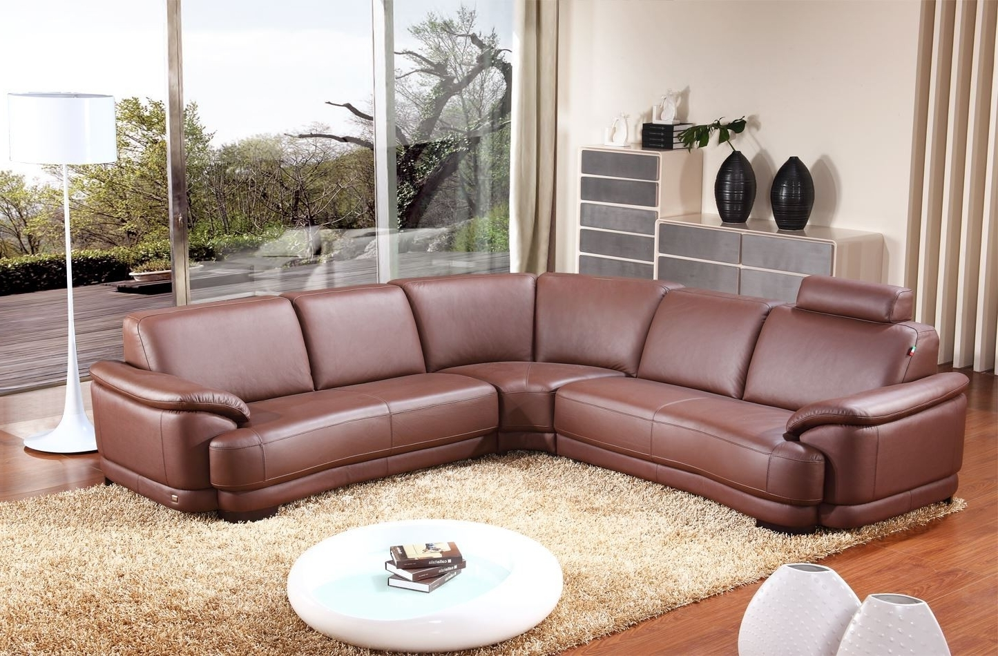 Leather Corner Sofas With Regard To Well Known Corner Sofas In Leather 27 With Corner Sofas In Leather (View 7 of 15)