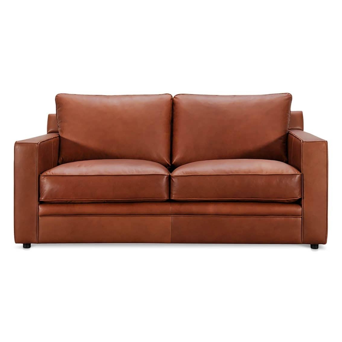 Leather Couches With Chaise Lounge With Regard To Recent Sofa : Black Leather Sectional Small Chaise Sofa Cheap Sectional (View 8 of 15)