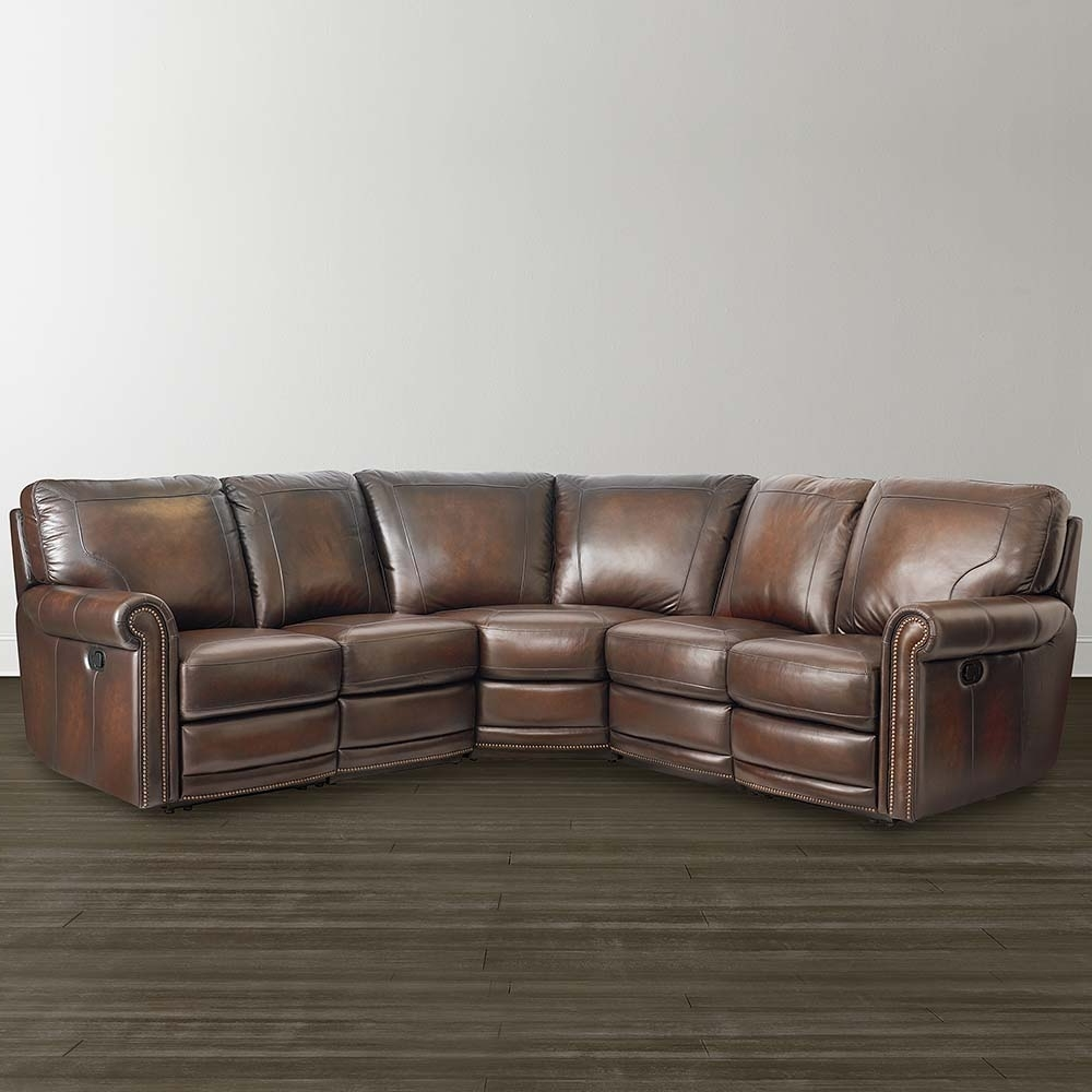 Leather Motion Sectional Sofa – Home And Textiles Intended For Widely Used Hamilton Sectional Sofas (View 9 of 15)