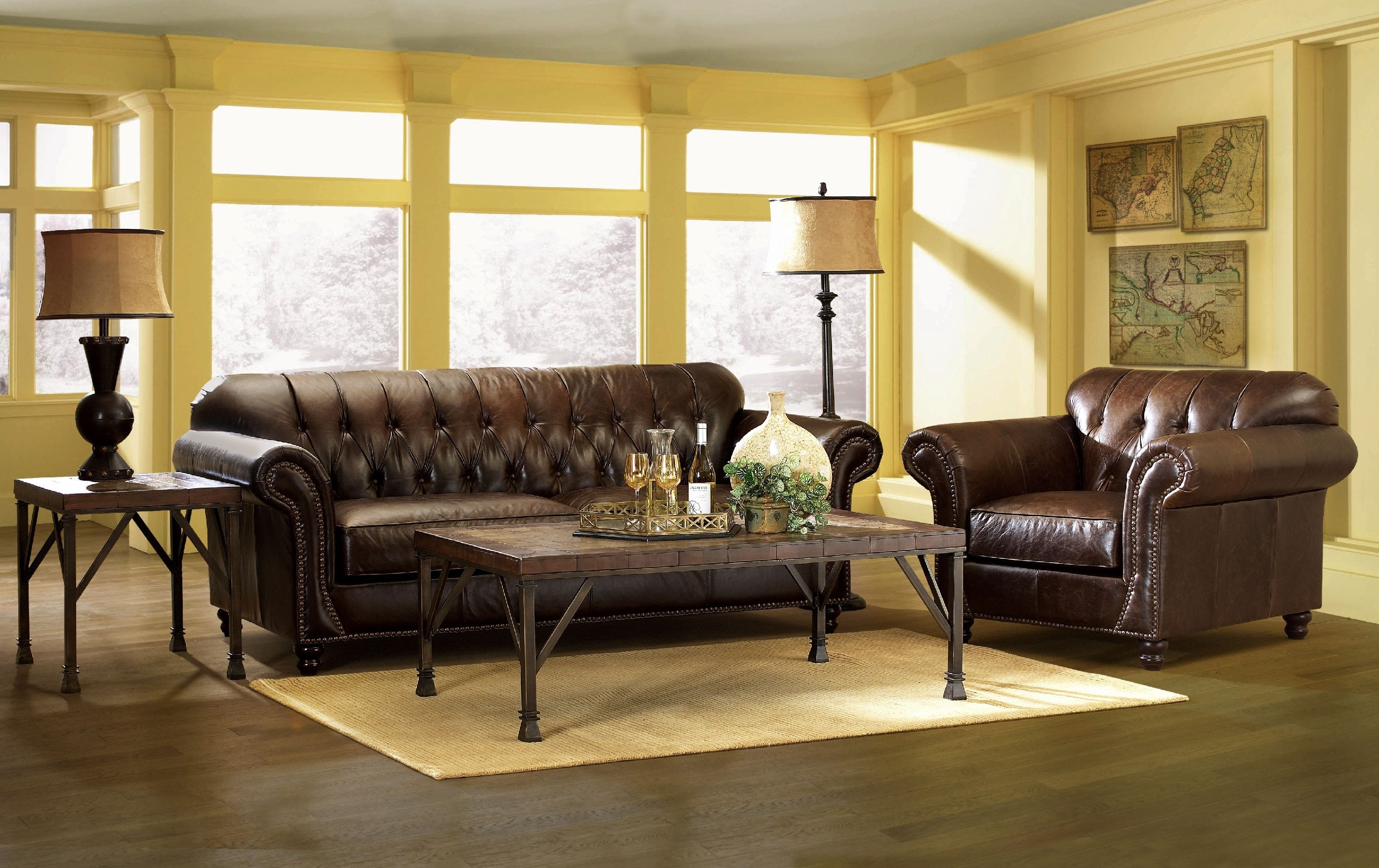 Leather Sectional Living Room Decor Tan Couch Ideas Sofa Sets With Regard To Recent Houzz Sectional Sofas (View 13 of 15)
