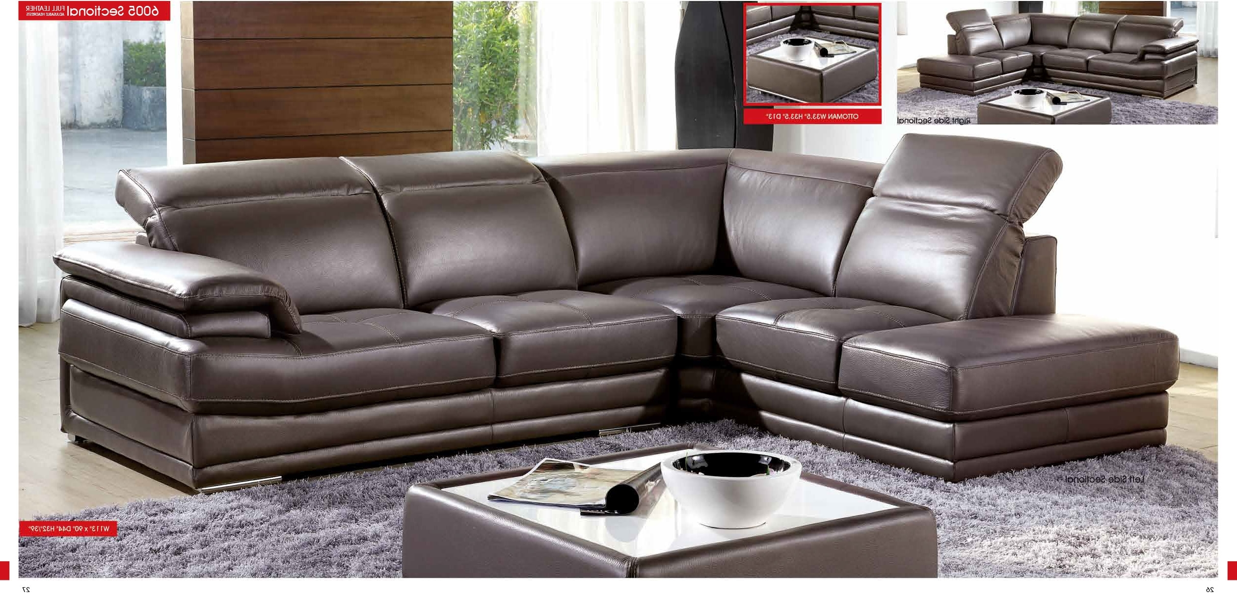 Leather Sectional Sofa Miami (View 12 of 15)