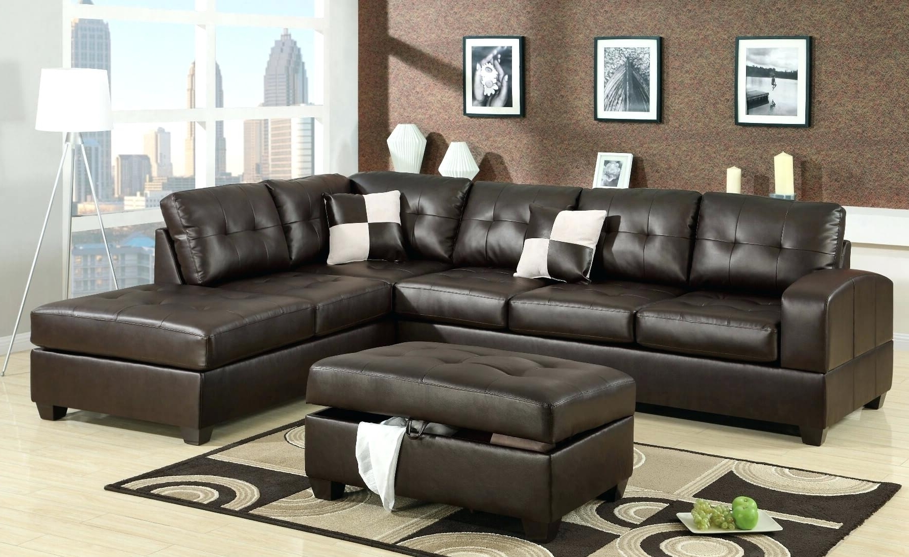 Leather Sectional Sofas – Stepdesigns Inside Recent Memphis Tn Sectional Sofas (View 4 of 15)