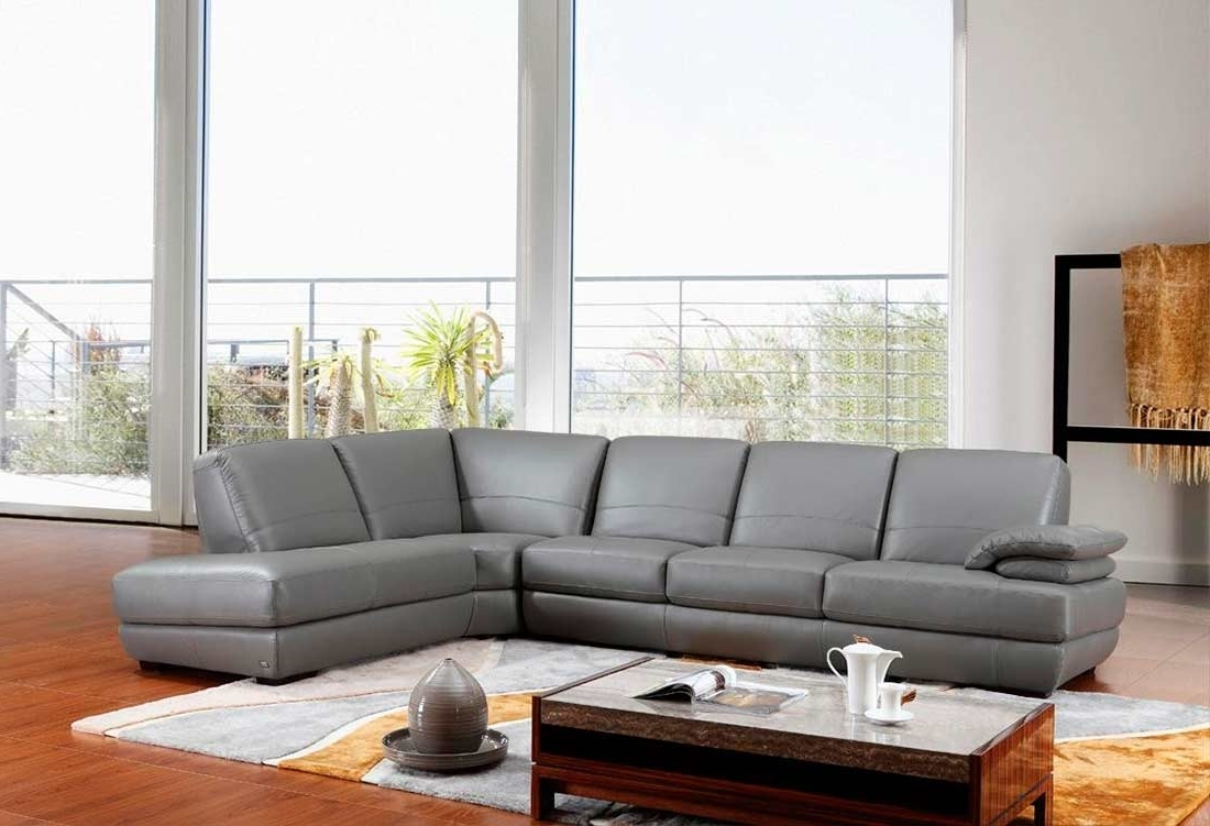Leather Sectionals (View 7 of 15)