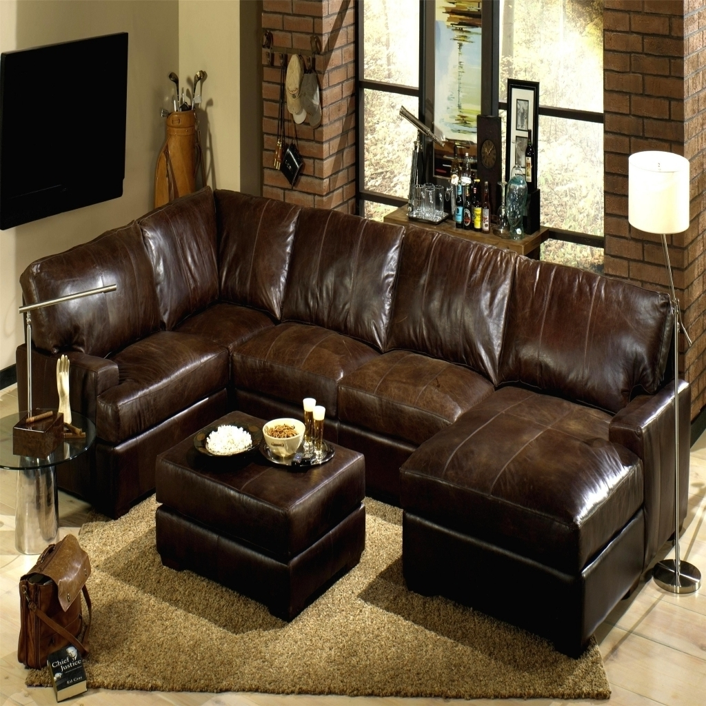 Leather Sectionals With Chaise Regarding 2017 Sectional Couch With Recliner Ikea Couch Bed Large Leather (View 11 of 15)