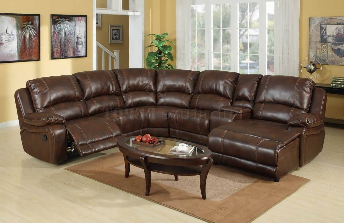 Leather Sectionals With Chaise Within Newest Sofa : Chaise Sofa Sectional With Chaise And Recliner White (View 7 of 15)