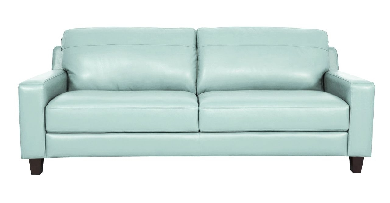 Leather Sofas, Aqua And Mattress In Aqua Sofas (View 4 of 15)