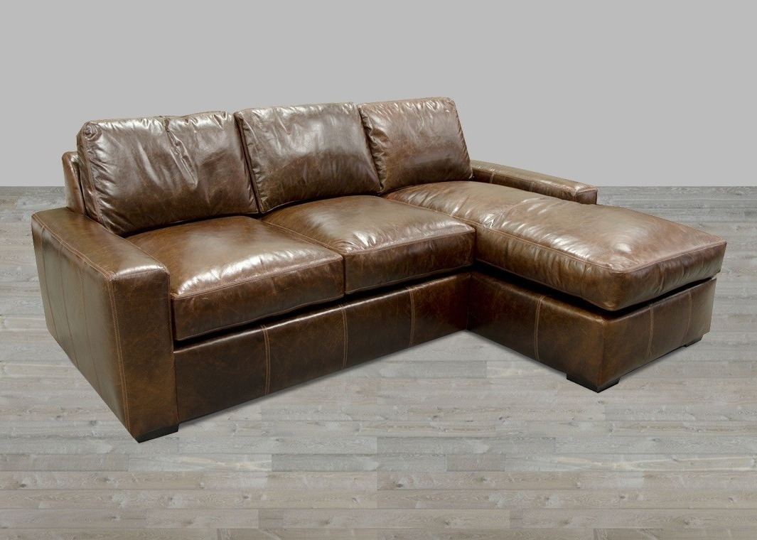 Leather Sofas With Chaise Lounge Intended For Newest England Fernwood Collection Fabric One Cushion Sofas (View 6 of 15)
