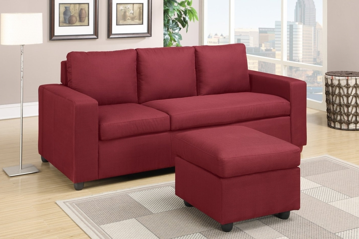 Leather Sofas With Chaise Lounge Throughout 2018 Sofas: Luxury Your Living Room Sofas Design With Red Sectional (View 7 of 15)