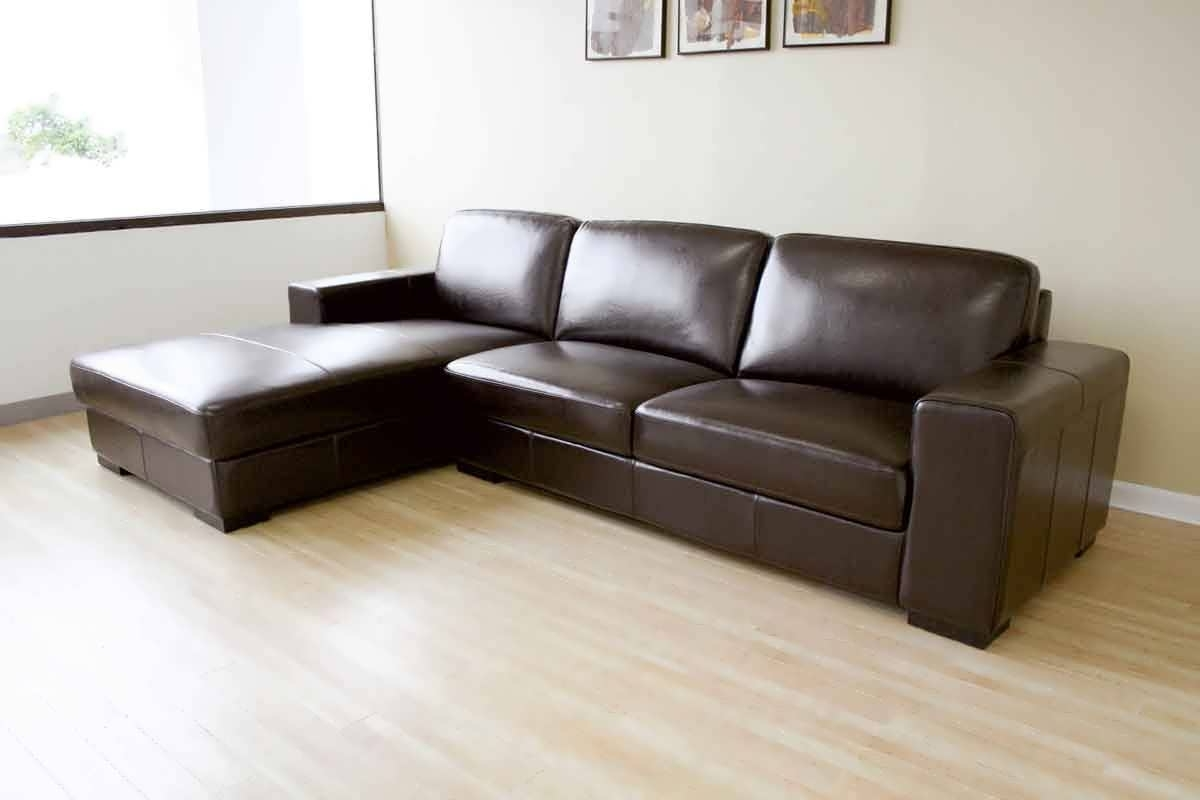 Leather Sofas With Chaise Regarding Well Known Sofa : Cheap Leather Sofas Chaise Sofa Small Leather Sofa White (View 4 of 15)
