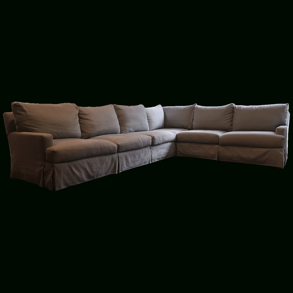 Lee Industries Sectional Sofas Throughout Well Known Viyet – Designer Furniture – Seating – Lee Industries Linen Blend (View 8 of 15)