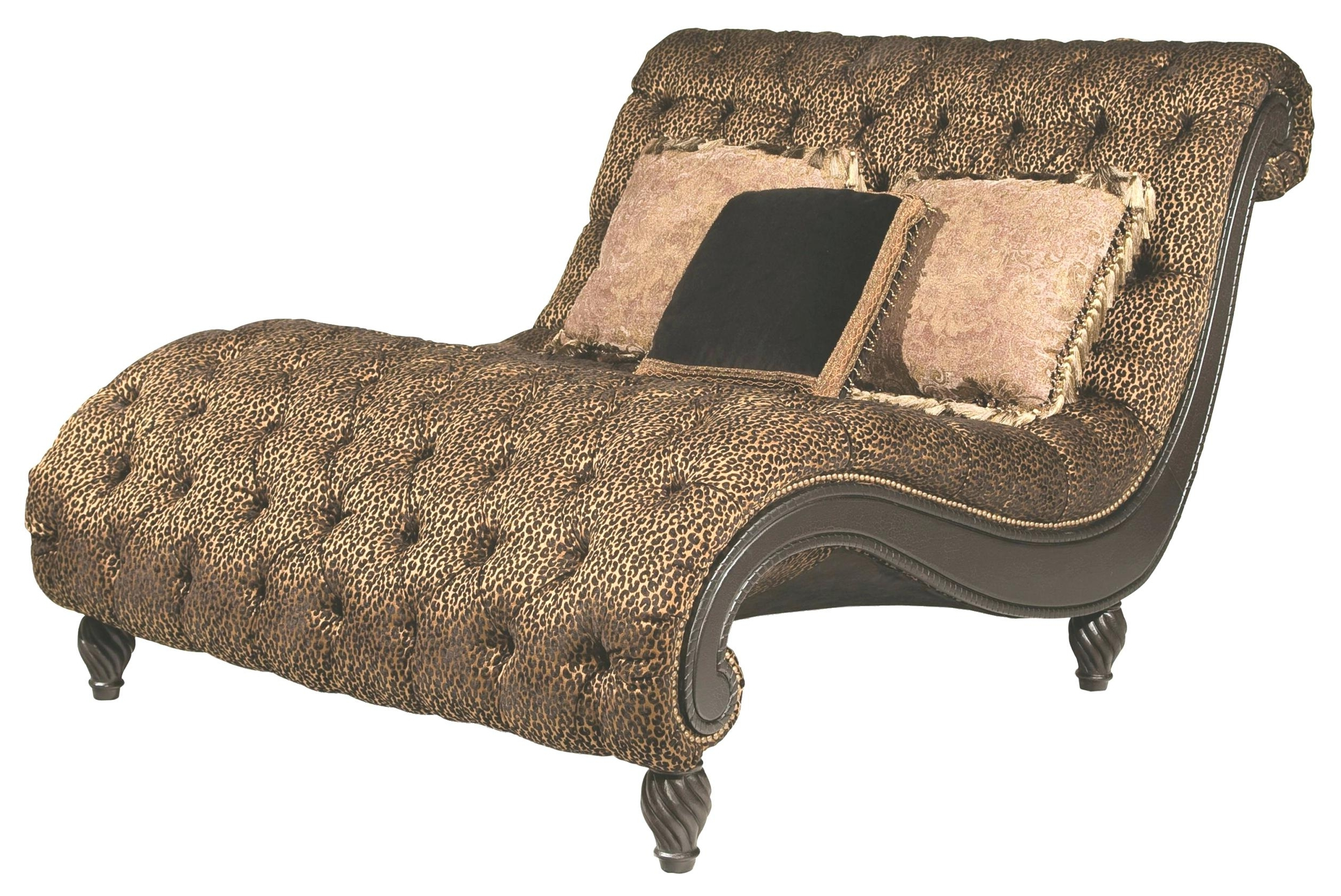 Leopard Chaise Lounges Inside Current Leopard Print Chaise Lounge Chair • Lounge Chairs Ideas (View 7 of 15)
