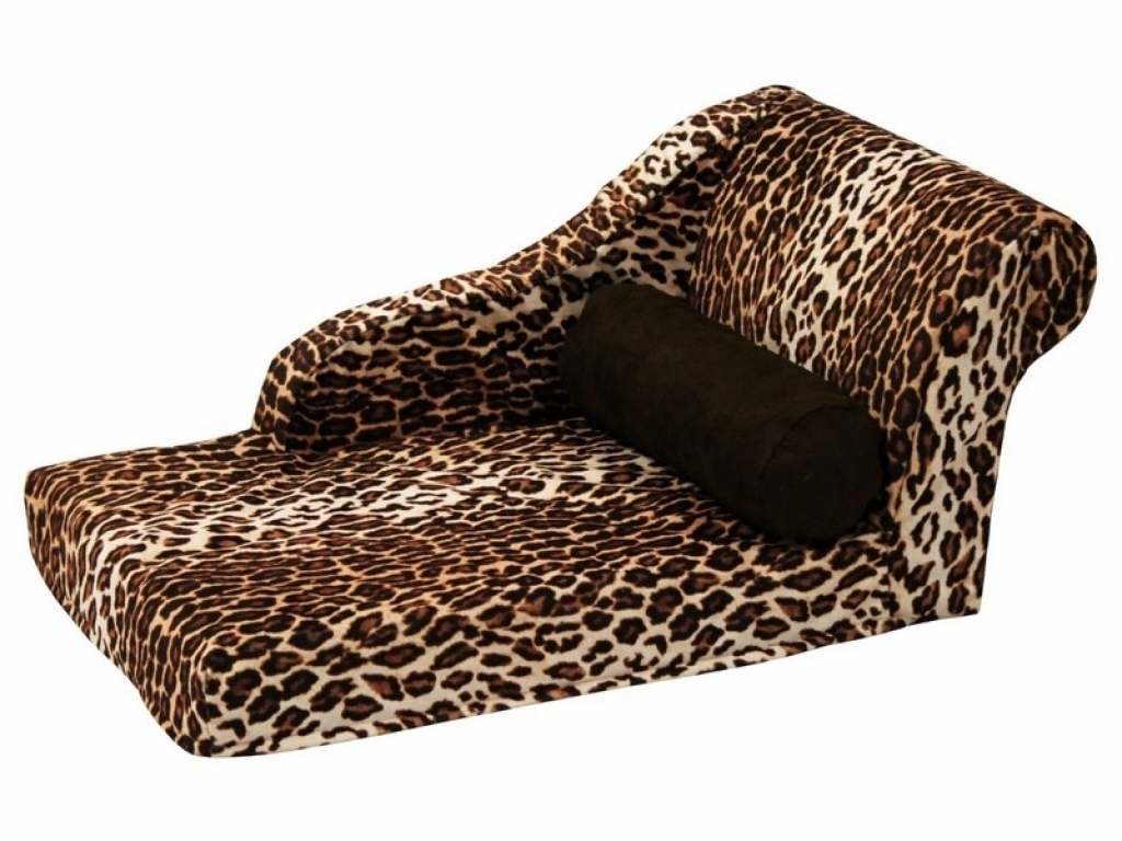 Leopard Chaise Lounges Regarding Latest Fabulous Leopard Chaise Lounge With Leopard Chaise Lounge Leopard (View 8 of 15)