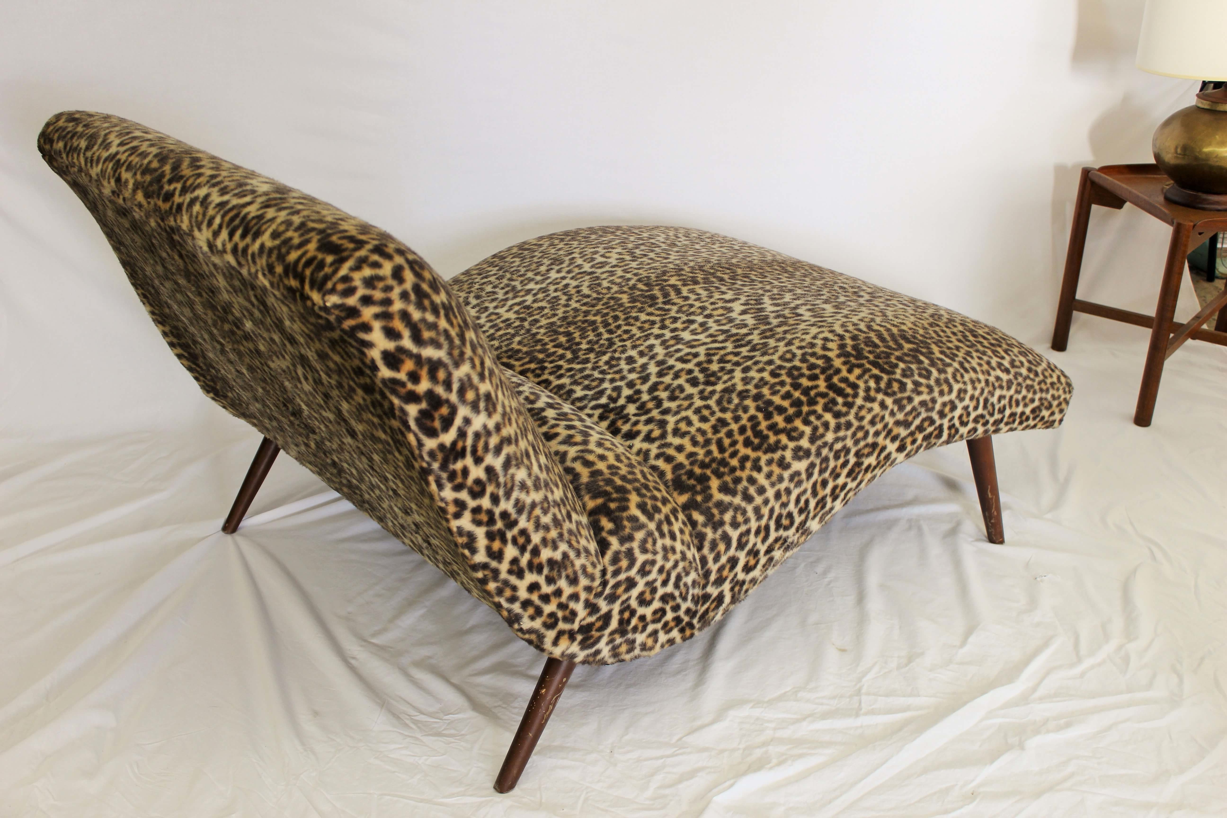 Leopard Chaises Regarding Widely Used Leopard Chaise Lounge – Leopard Chaise Lounge Chair Animal Print (View 9 of 15)
