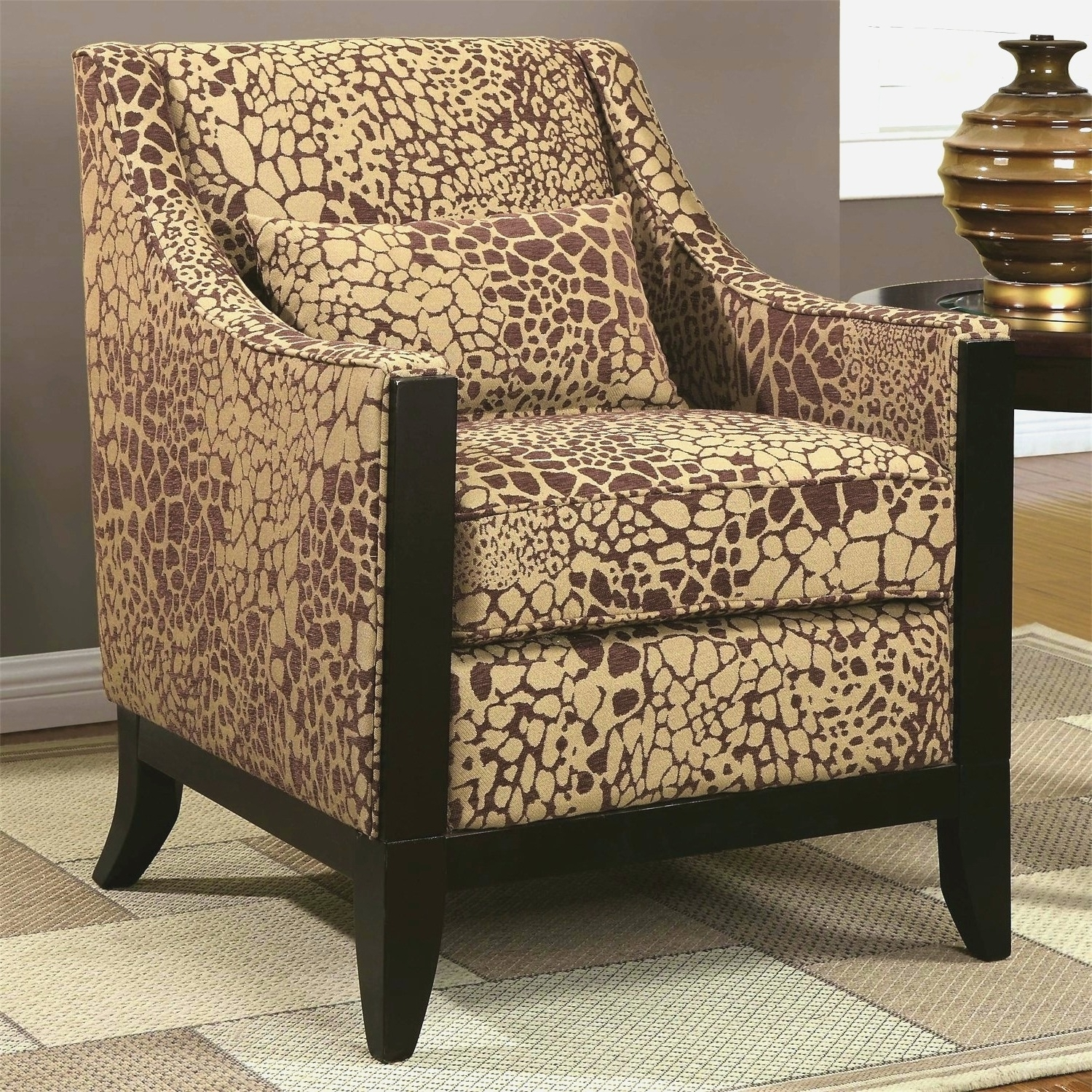Leopard Print Chaise Lounge Chair • Lounge Chairs Ideas Regarding Trendy Leopard Print Chaise Lounges (View 3 of 15)