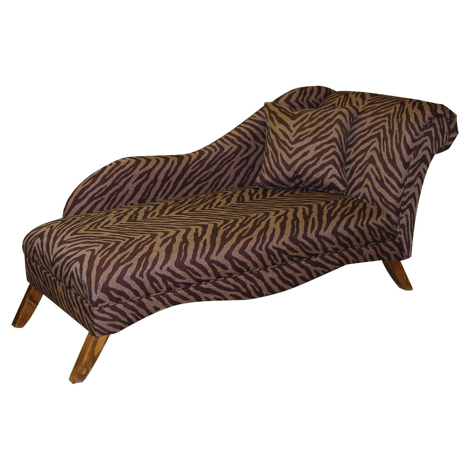Leopard Print Chaise Lounges Inside Well Known Unbelievable Leopard Chaise Lounge With Image For Animal Print (View 3 of 15)