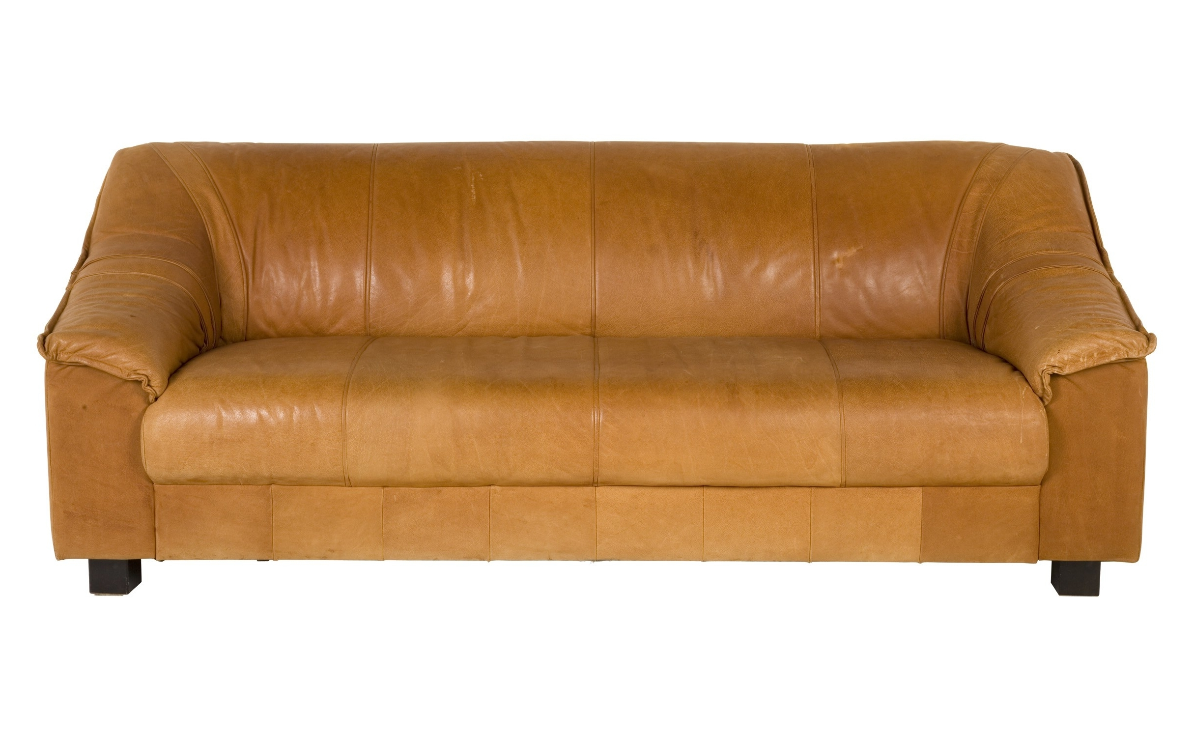 Light Tan Leather Sofas With Regard To Most Recently Released Vintage Tan Leather Sofa (View 4 of 15)