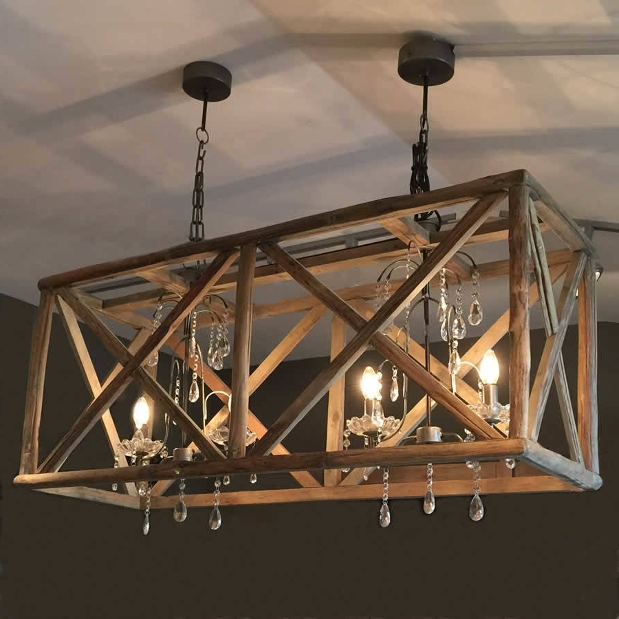 Lighting: Fantastic Wooden Chandeliers For Home Accessories Ideas Throughout Most Recently Released Chandelier Accessories (View 11 of 15)