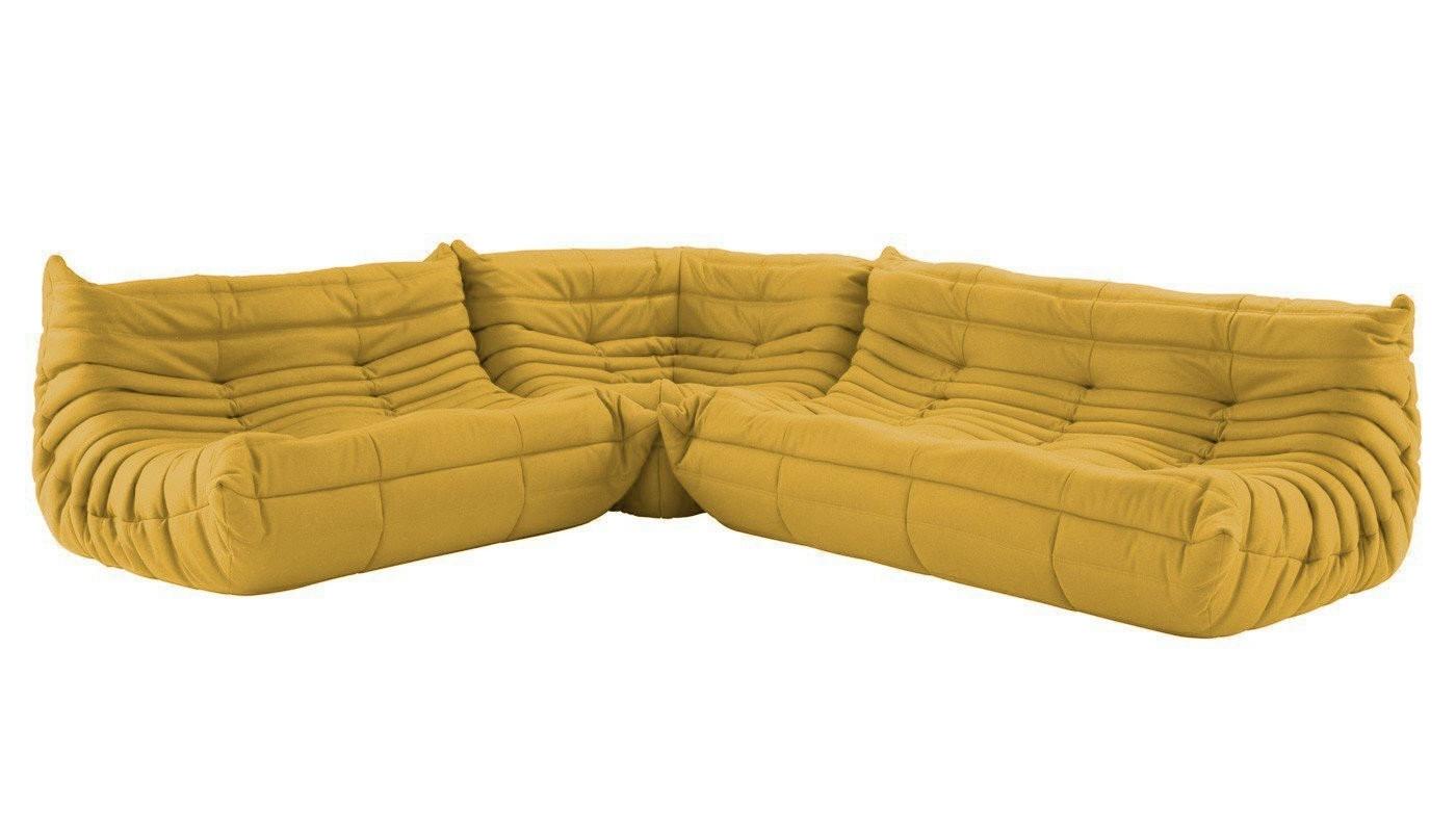 Ligne Roset Togo Modular Corner Sofa Complete (View 8 of 15)