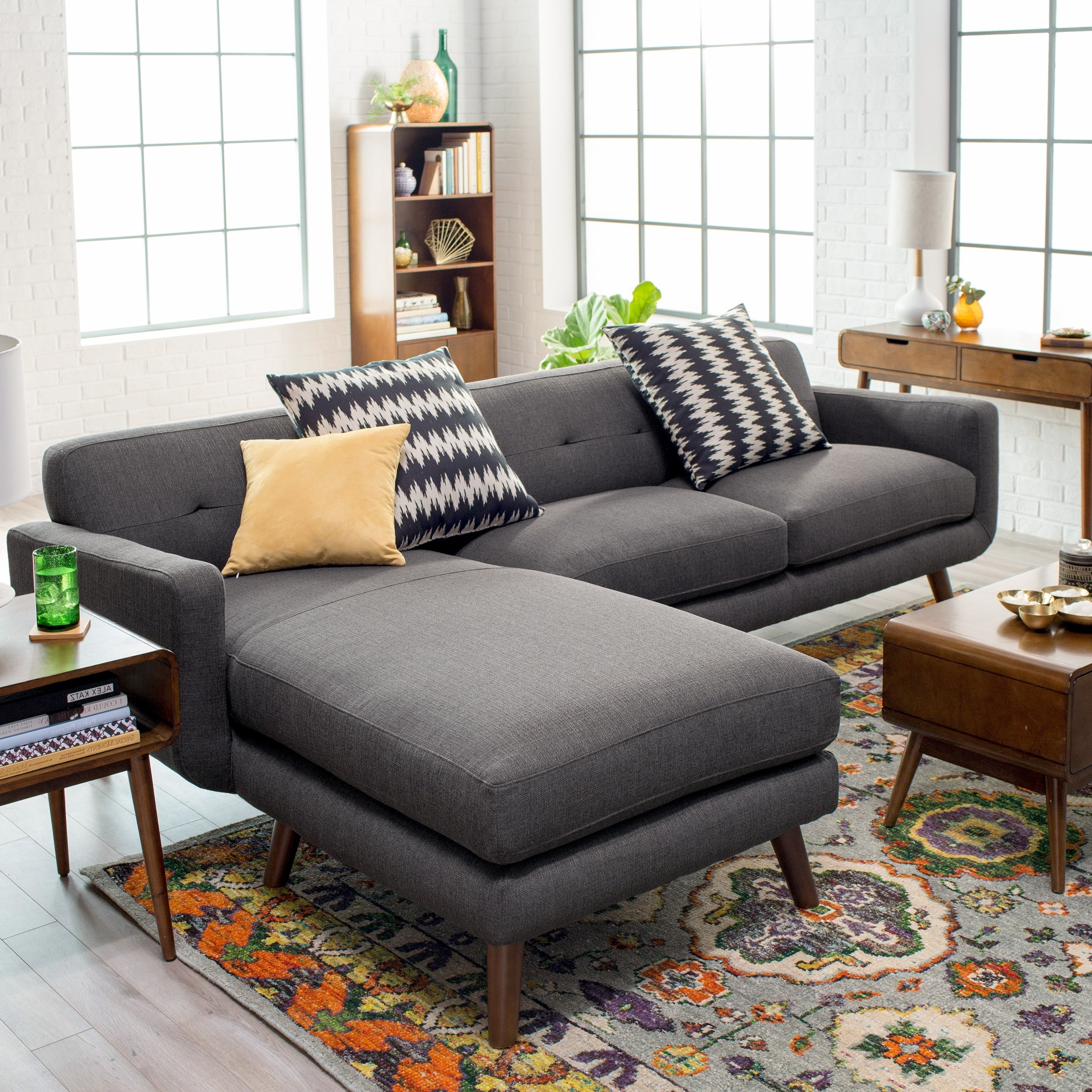 Living Room Furniture : Sectional Sofas For Small Spaces Sectional With Most Popular Sectional Sofas For Small Doorways (View 2 of 15)