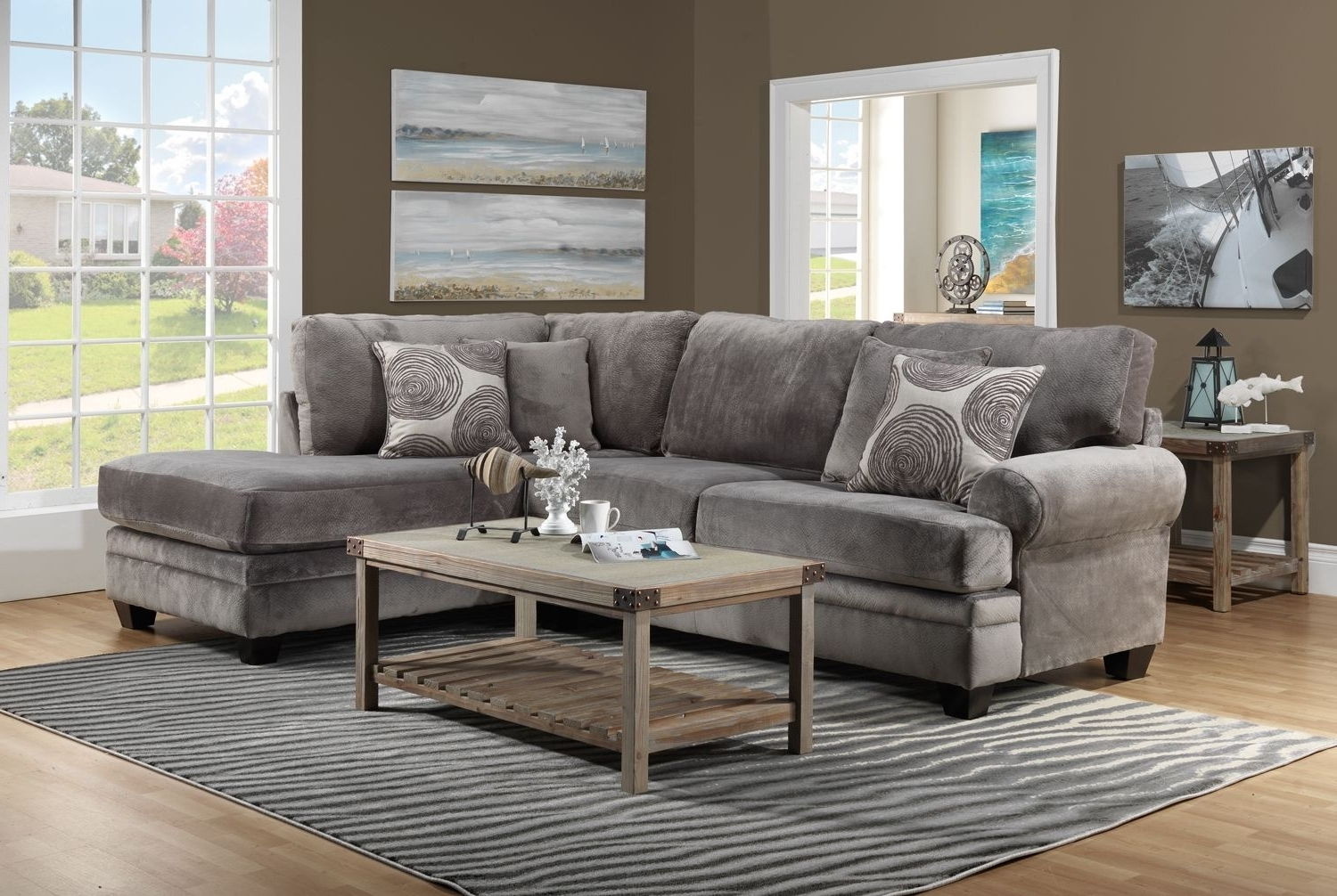 Living Room Furniture The Lana Collection Lana 2 Pc (View 8 of 15)