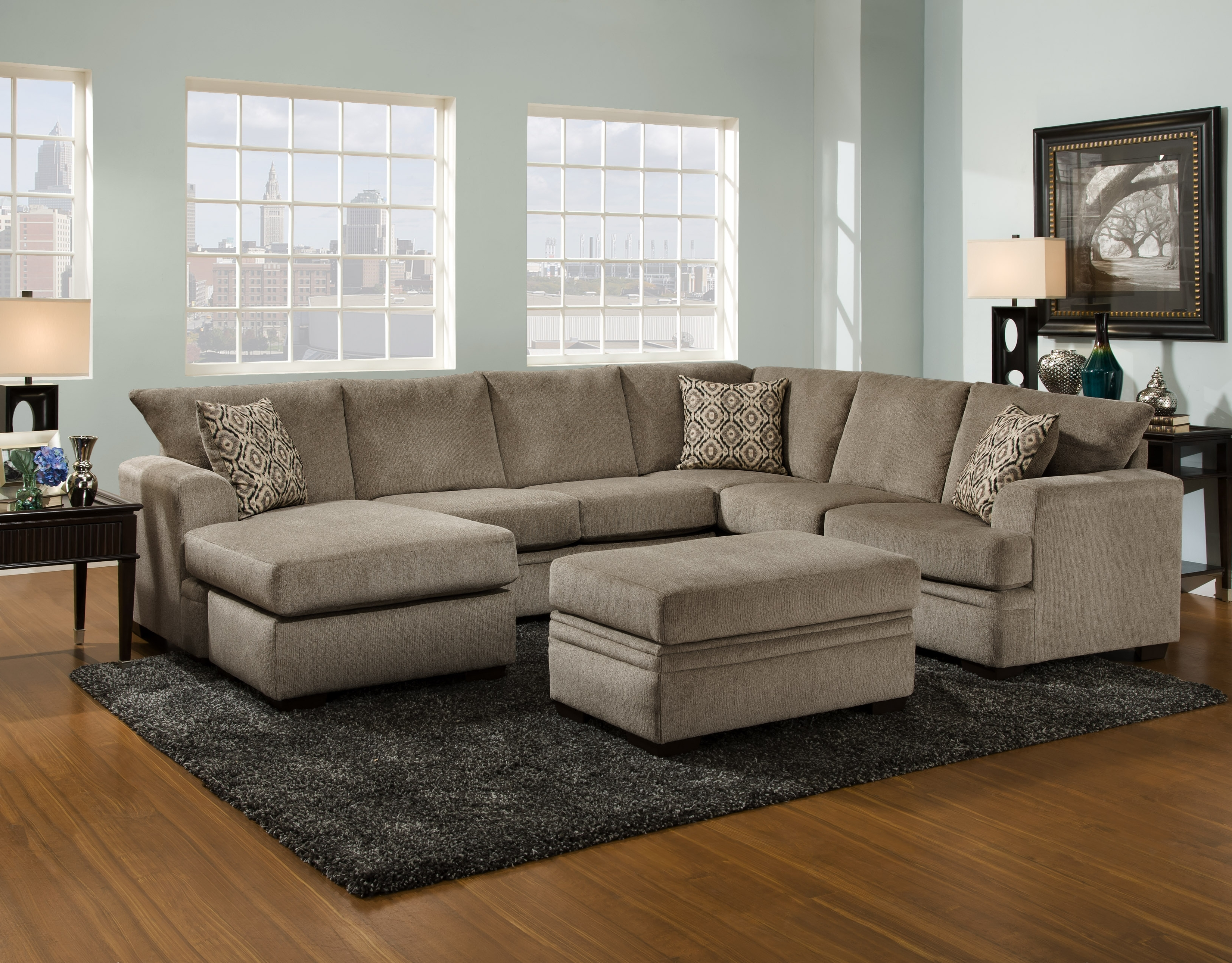 Living Room Furniture – Vaughn's Home Furnishings Pertaining To Most Popular Vaughan Sectional Sofas (View 7 of 15)
