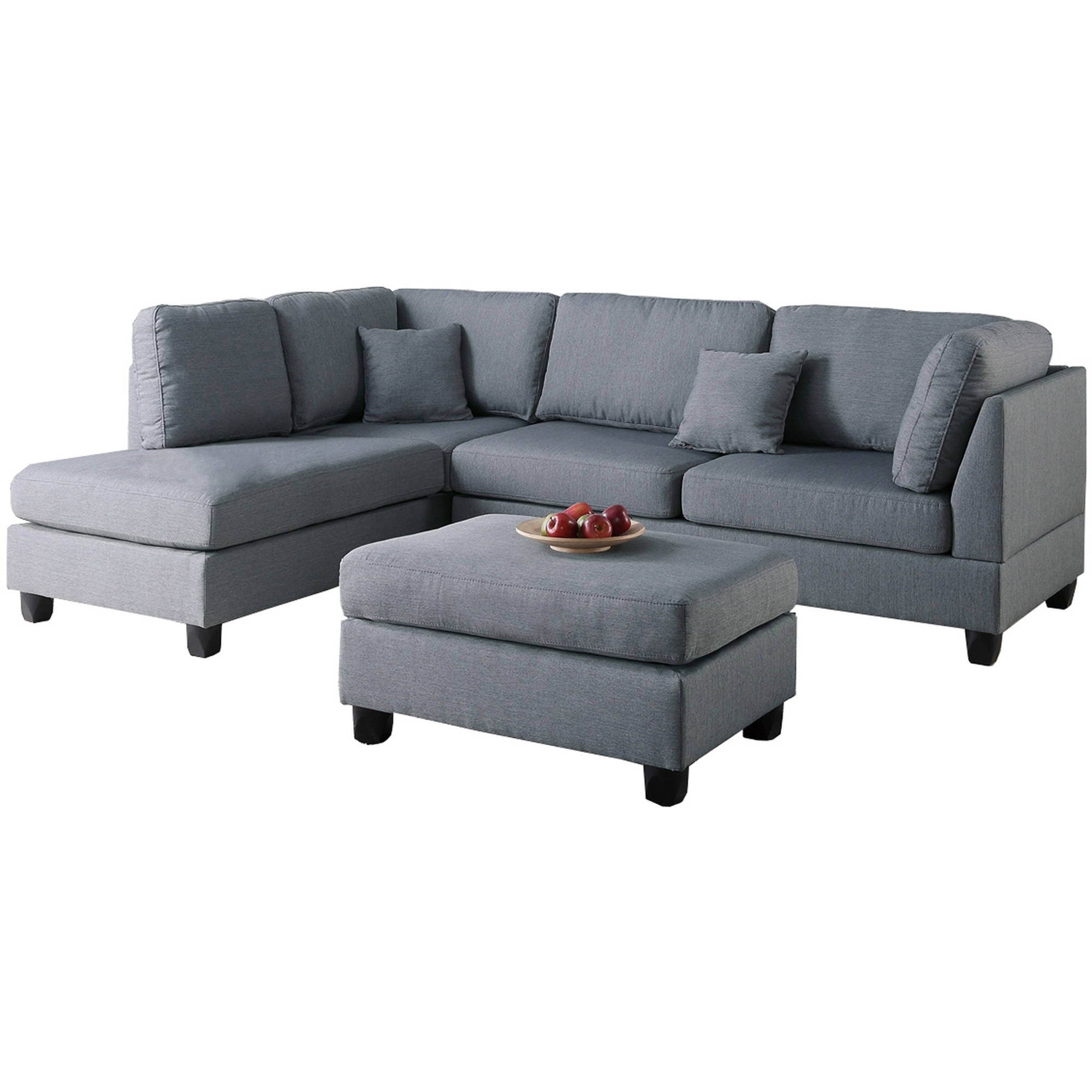 Living Room Furniture With Regard To Newest Sectional Sofas At Walmart (View 14 of 15)