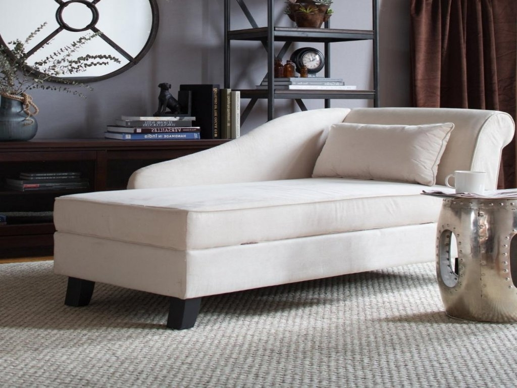 Living Room: Lounger Sofa Fresh Storage Chaise Lounge Chair Decor Intended For Most Recently Released Chaise Lounge Chairs For Living Room (View 7 of 15)