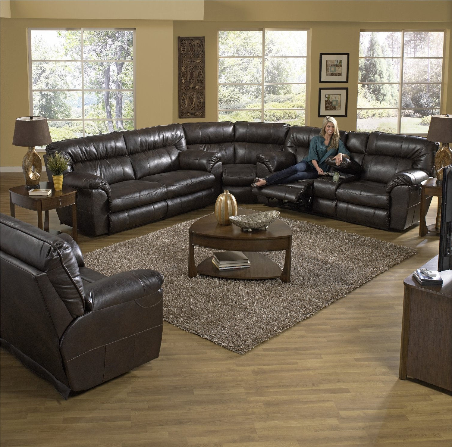 Living Room Sets – Traditional To Modern – Hom Furniture Within Popular Minneapolis Sectional Sofas (View 3 of 15)