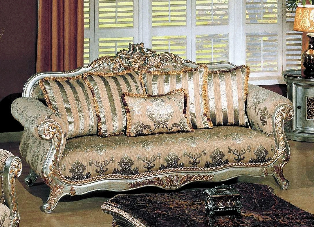 Living Room Sofa Traditional Designs India With Indian English Set Within Fashionable Traditional Sofas And Chairs (View 4 of 15)