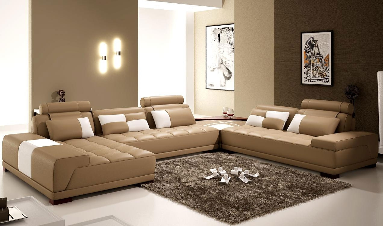 Living Room : Wonderful Living Room Leathe Furniture Decorating Pertaining To 2018 New Orleans Sectional Sofas (View 3 of 15)