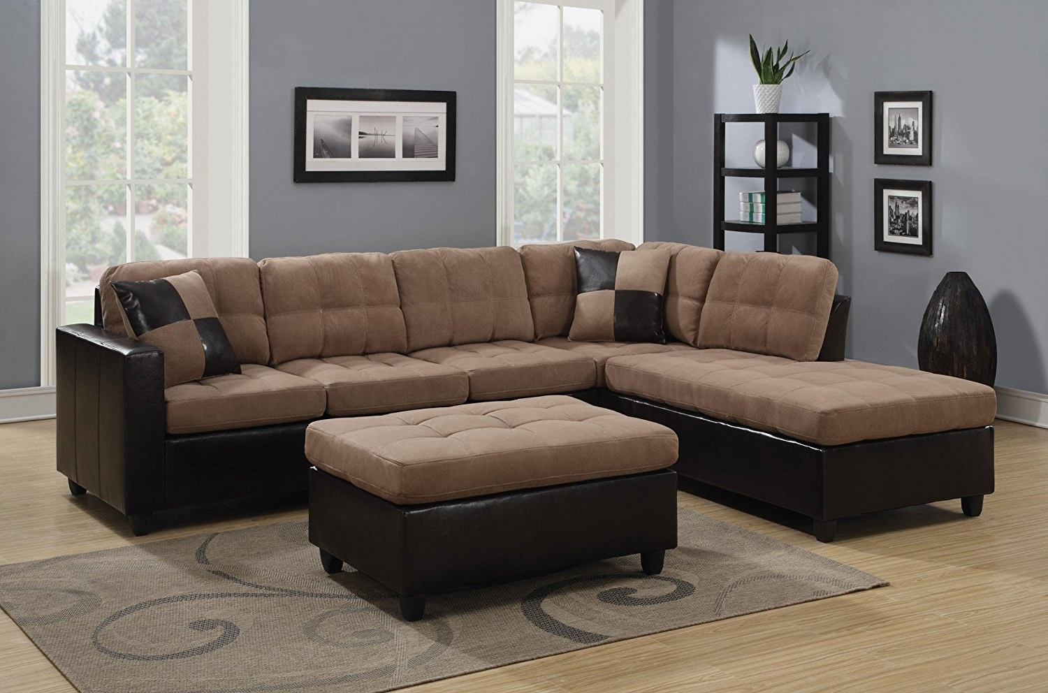 Living Spaces Sectional Sofas Within Most Recent Living Room: Shop Sectional Sofas Leather Sectionals Living Spaces (View 8 of 15)