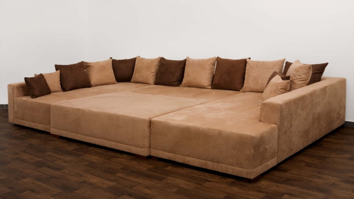 Long Chaise Sofas In Preferred Sofa: Glamorous Extra Wide Sofa Extra Deep Couches Living Room (View 15 of 15)