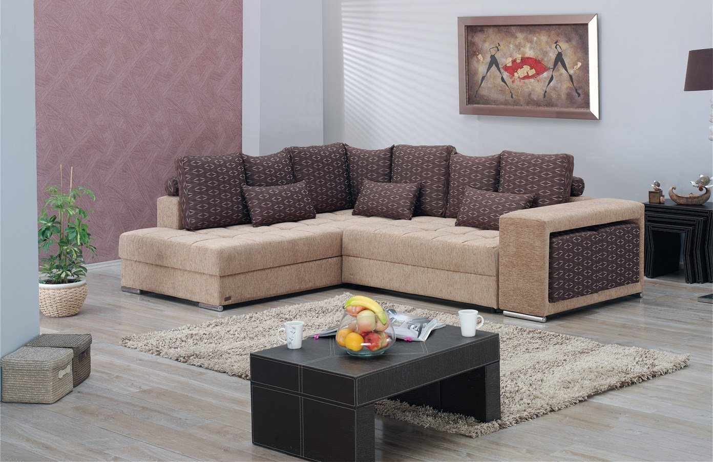 Los Angeles Sectional Sofa Setempire Furniture Usa Pertaining To Famous Los Angeles Sectional Sofas (View 7 of 15)