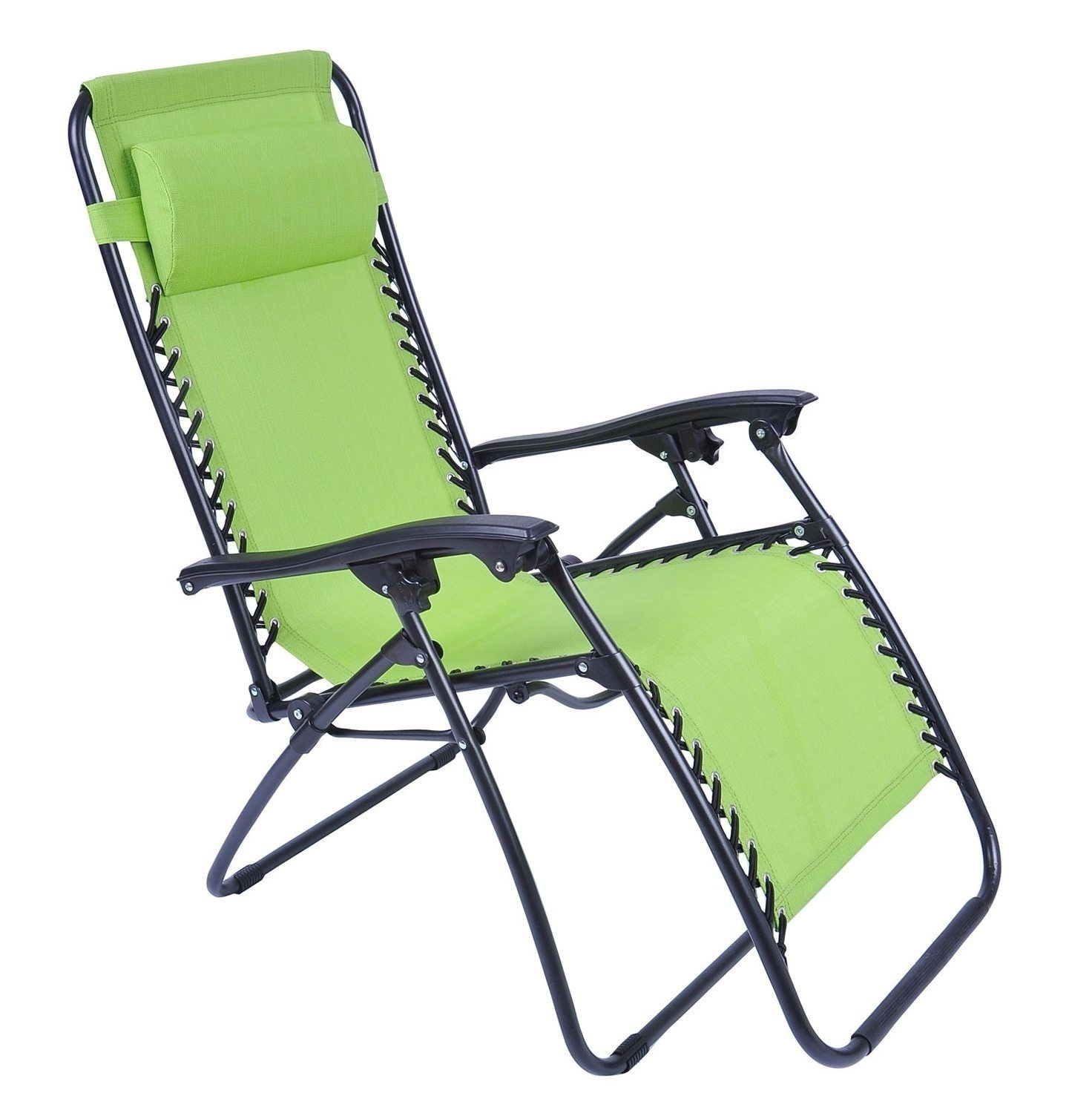 Lounge Chair Outdoor Folding Folding Chaise Lounge Chair Patio In Well Known Folding Chaise Lounge Lawn Chairs (View 9 of 15)