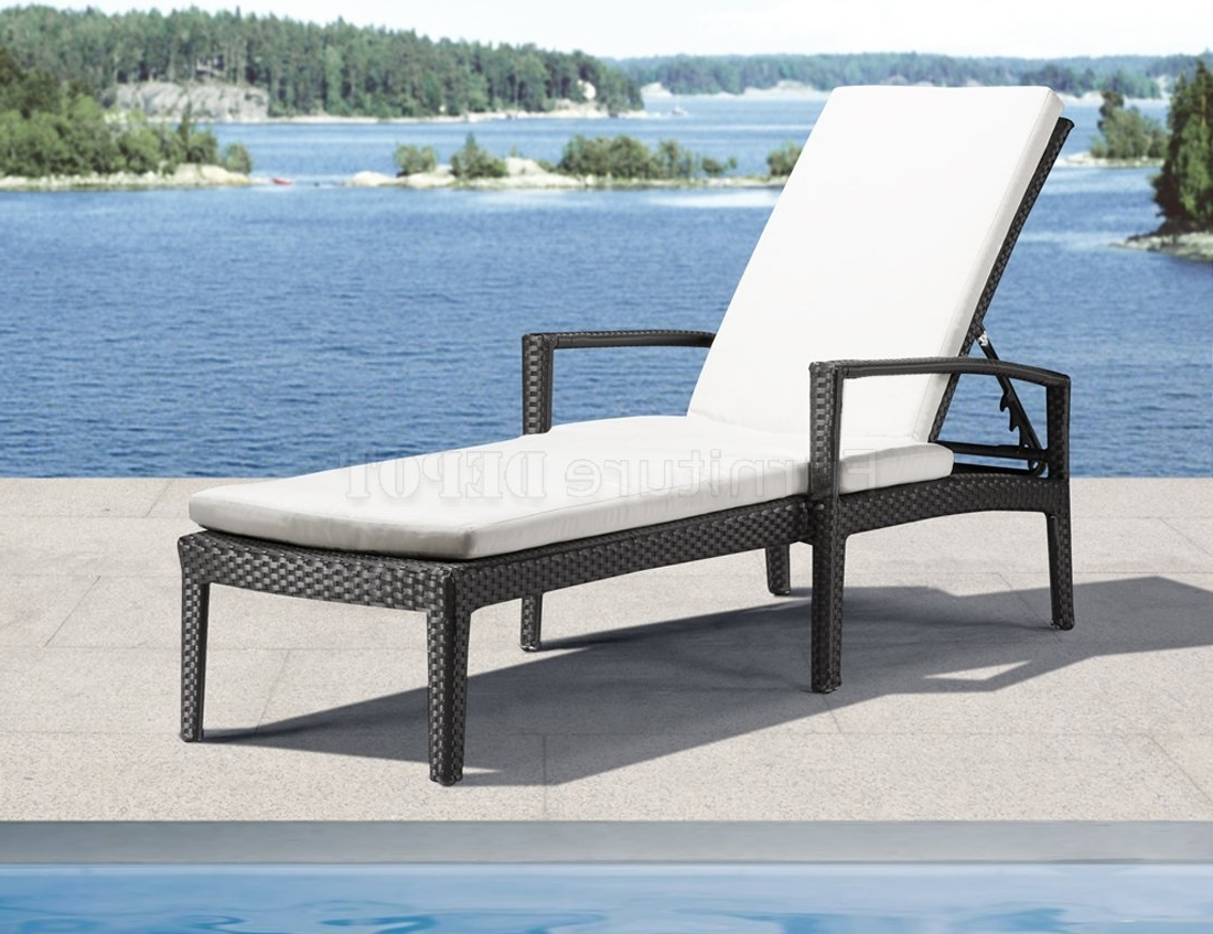 Lounge Chair : Patio Furniture Warehouse Blue Chaise Lounge Intended For Trendy Black Outdoor Chaise Lounge Chairs (View 9 of 15)