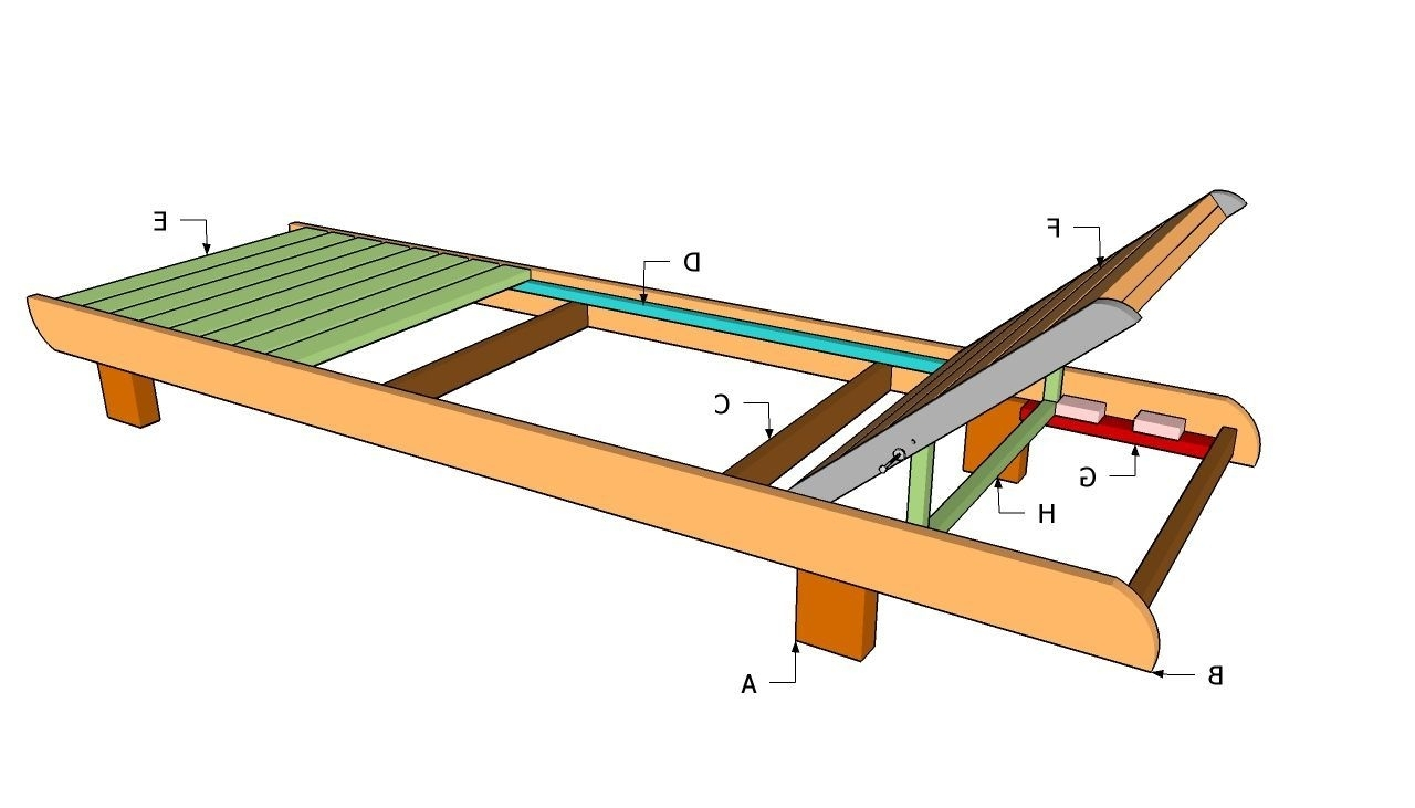 Lounge Chair Plans (View 6 of 15)