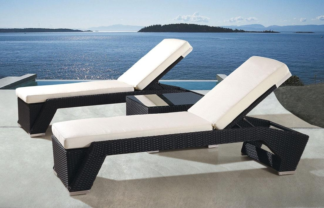 Lounge Chair : Pool Chair Set Outdoor Patio Lounger Lawn Chaise Within Preferred Deck Chaise Lounge Chairs (View 8 of 15)