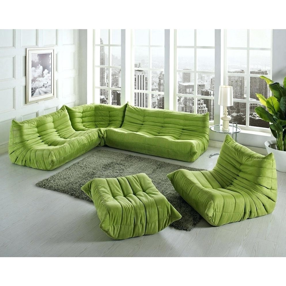 Low Sofas In Recent Decoration: Modern Low Sofa (View 7 of 15)