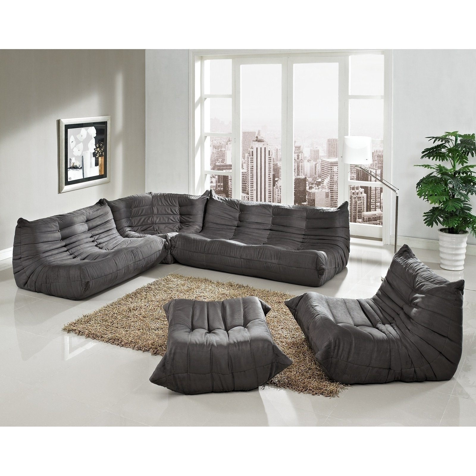 Low Sofas Throughout Trendy Beautiful Low Profile Sectional Sofa 40 On Sofas And Couches Ideas (View 8 of 15)