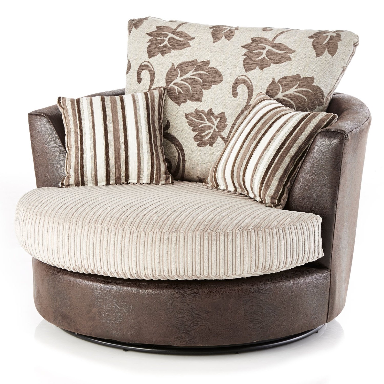 Lush Jumbo Cord Swivel Chair – Next Day Delivery Lush Jumbo Cord Inside Well Known Sofas With Swivel Chair (View 4 of 15)