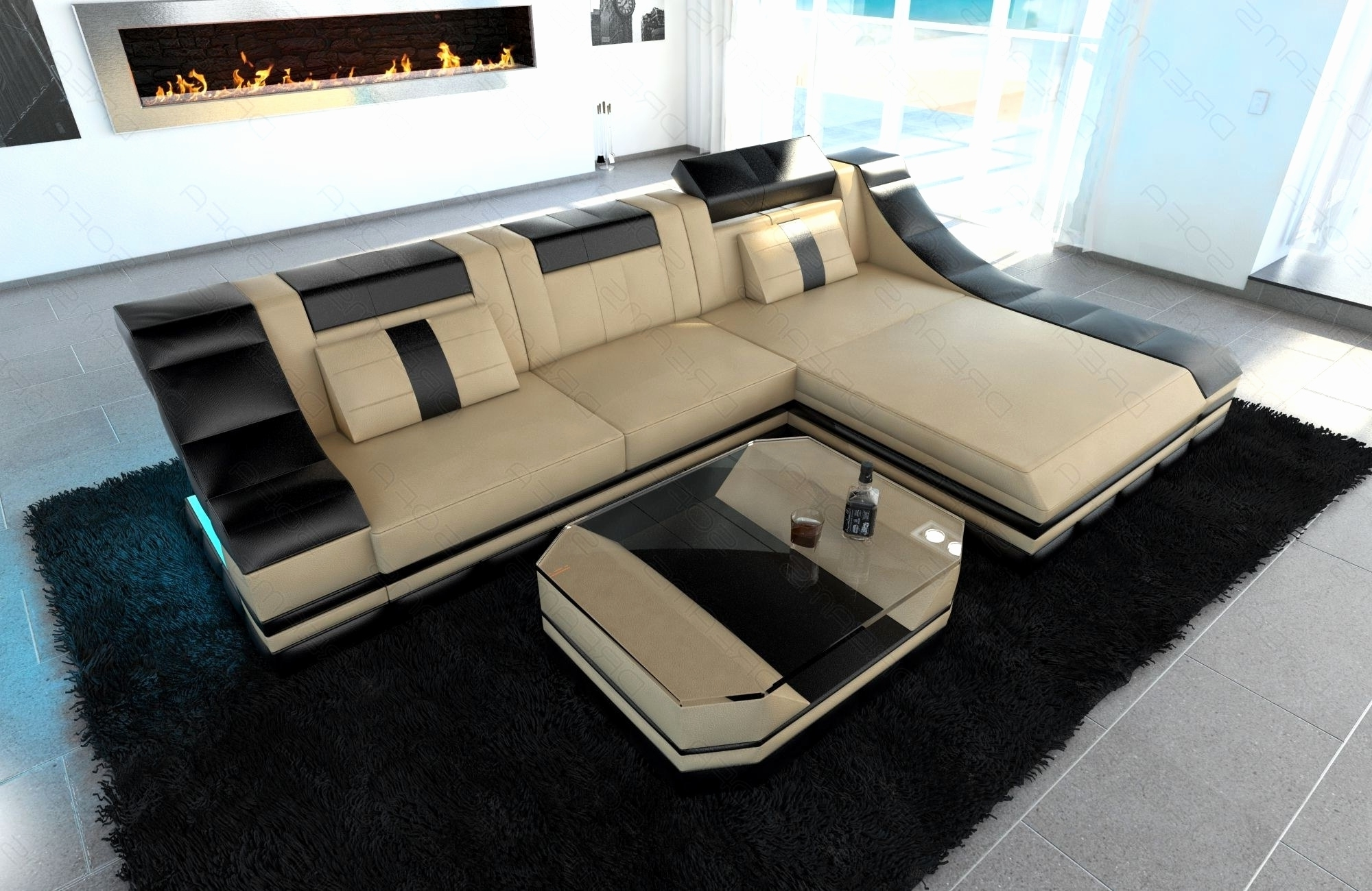 Luxury Sectional Sofas Inside Most Popular Luxury Small Sectional Sofas 2018 – Couches Ideas (View 9 of 15)