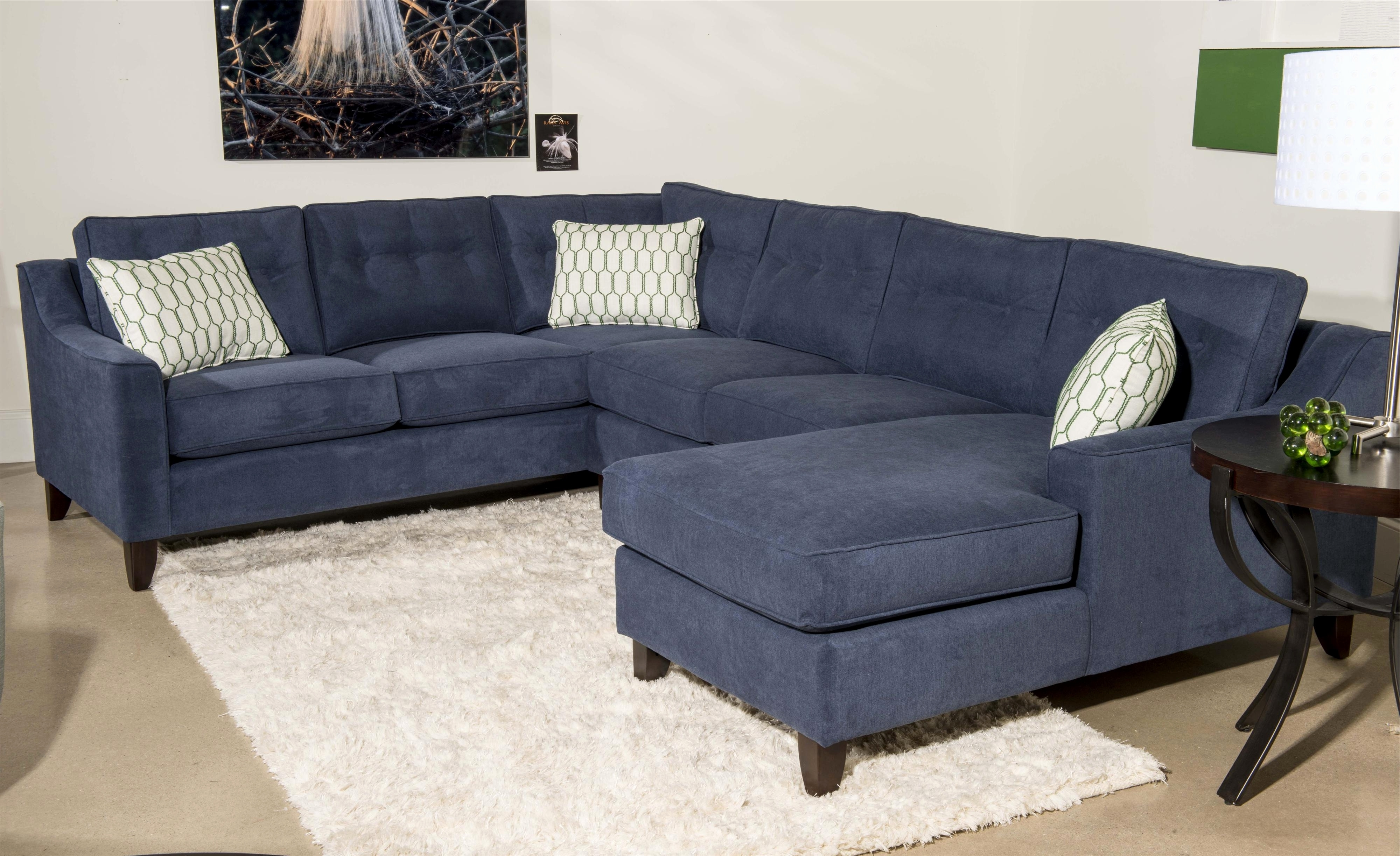 Luxury U Shaped Sectional With 2 Chaise 2018 – Couches And Sofas Ideas Intended For Fashionable Blue U Shaped Sectionals (View 3 of 15)