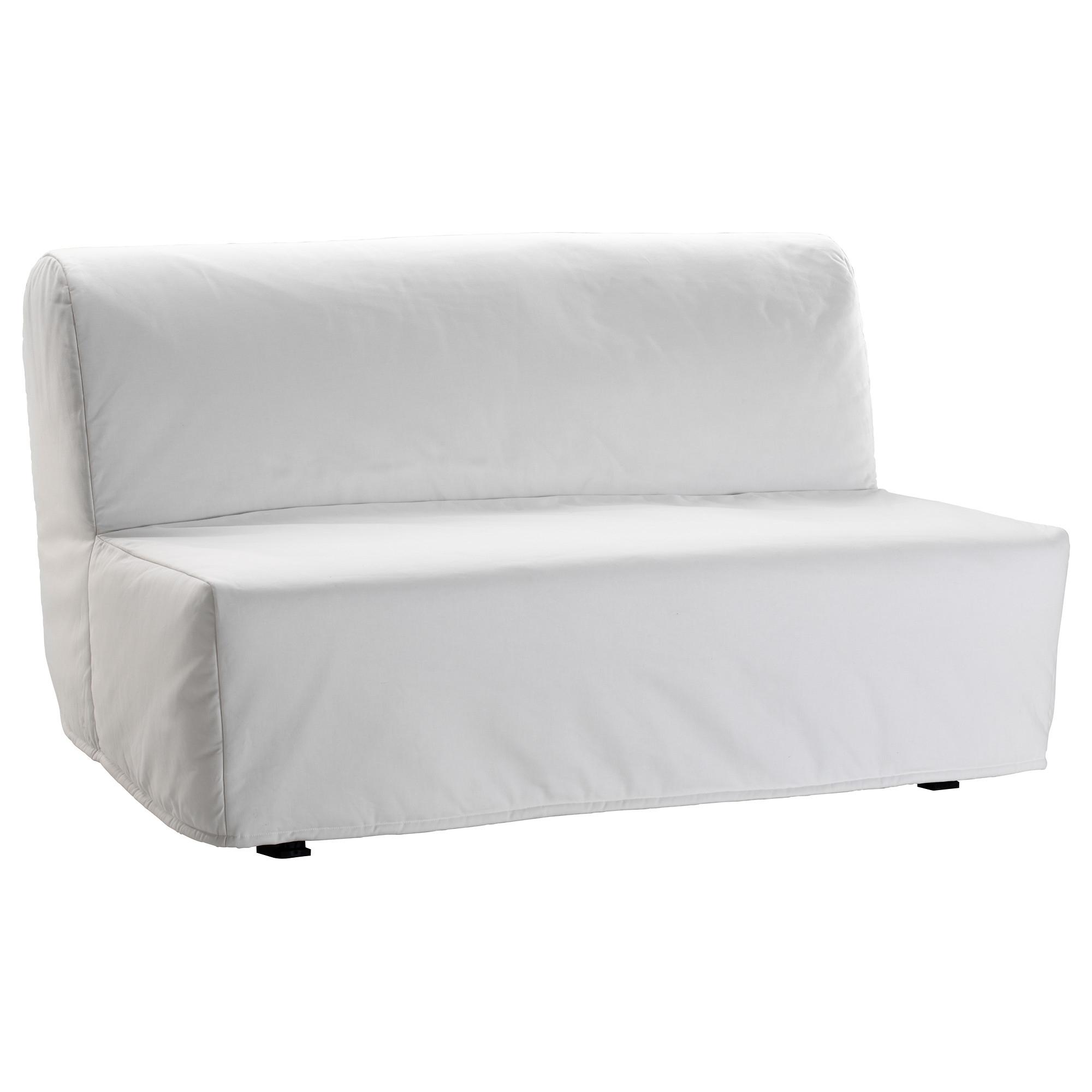 Lycksele Lövås Sleeper Sofa – Ransta White – Ikea With Widely Used Ikea Loveseat Sleeper Sofas (View 12 of 15)
