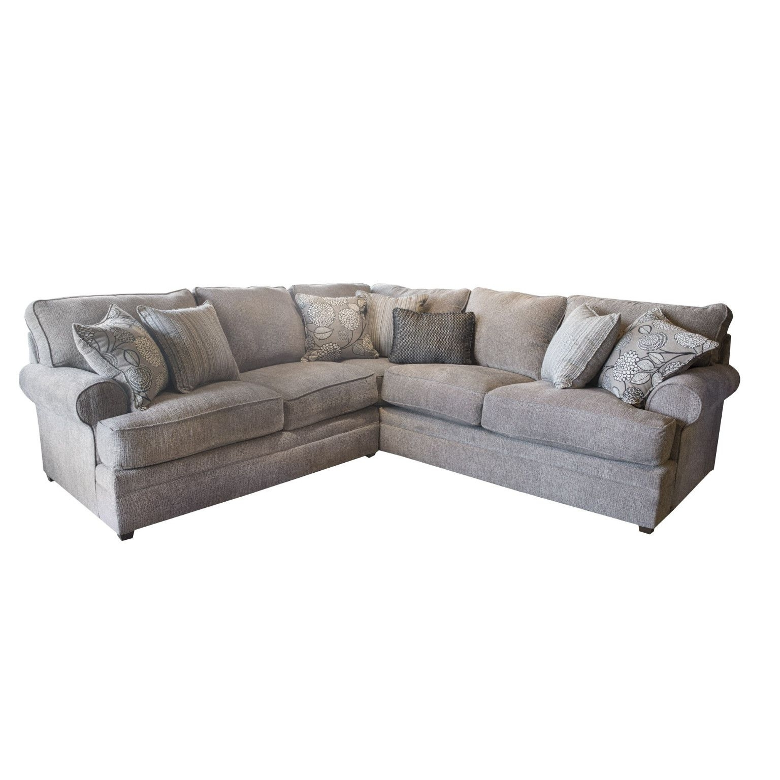Macey Pewter 2 Piece Sectional Beauty Restsimmons $ (View 3 of 15)