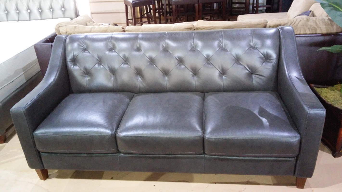 Macys Leather Sofas Throughout Most Current Macys Leather Sofa – Mforum (View 11 of 15)