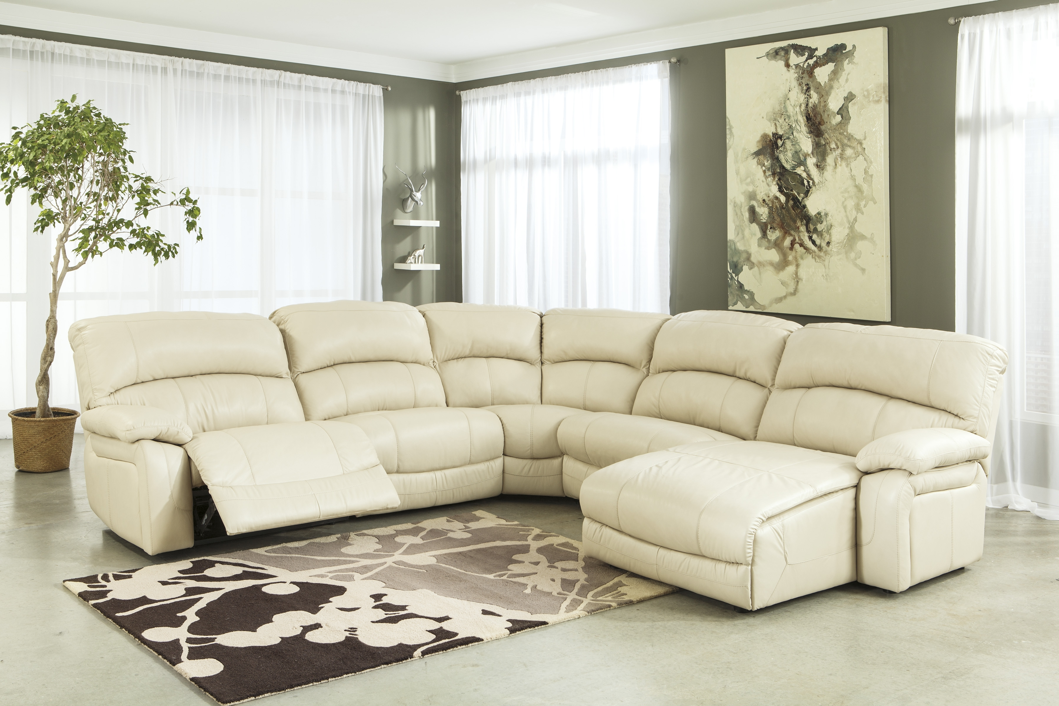 Macy's Power Recliner Sofa Sectional Couches Big Lots Power Inside Popular Cream Chaise Sofas (View 11 of 15)