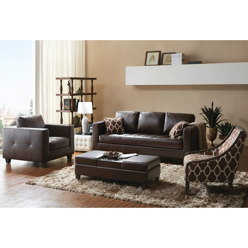 Madison Living Room – Sofa, Arm Chair, Accent Chair & Ottoman Throughout Well Known Loveseats With Ottoman (View 10 of 15)