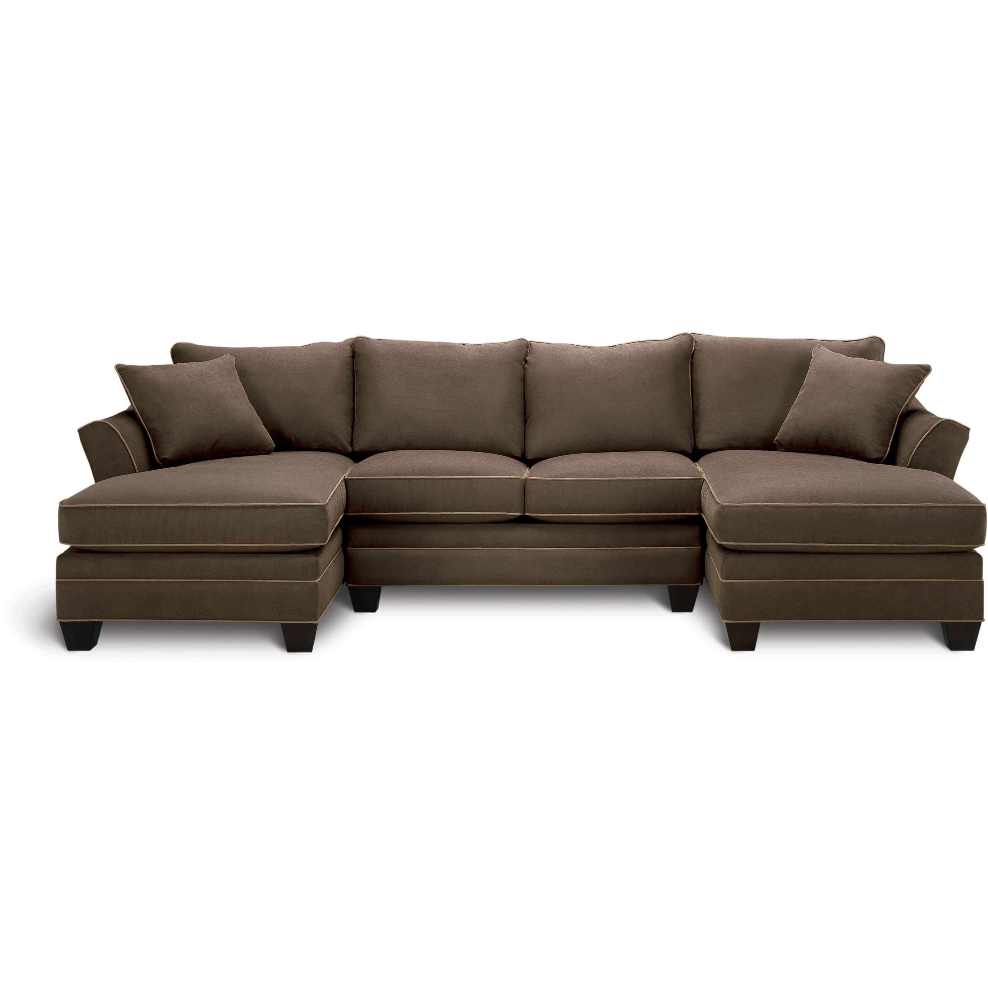 Make The Most Of Your Space With The Dillon Sectional That Offers Pertaining To Well Known Sectional Sofas Art Van (View 11 of 15)
