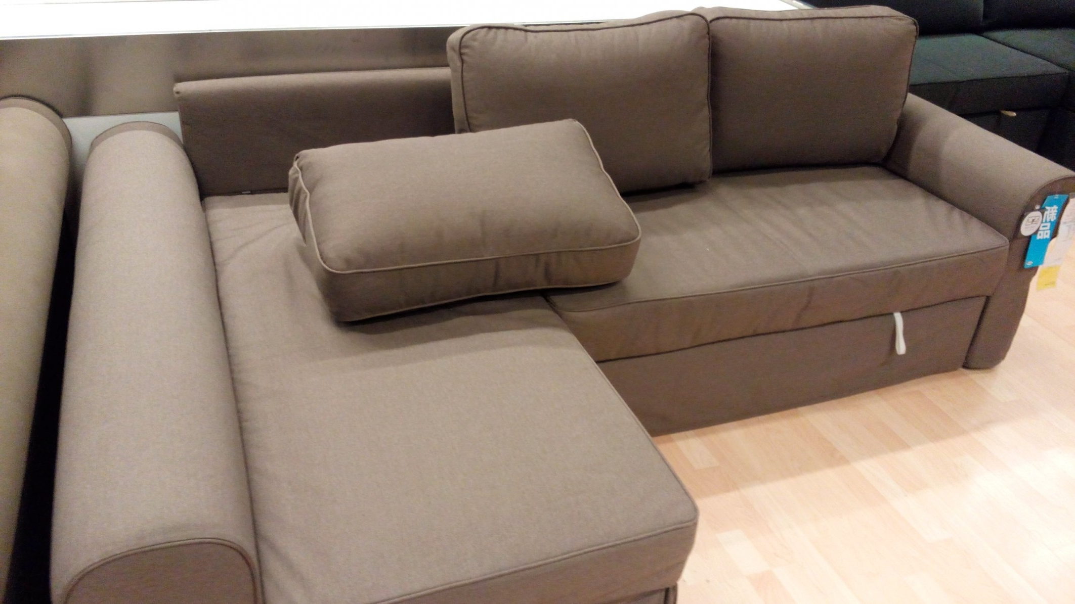 Manstad Sofas Within Widely Used Manstad Sofa Bed Dimensions #2 Ikea Backabro Sofa Bed With Chaise (View 12 of 15)