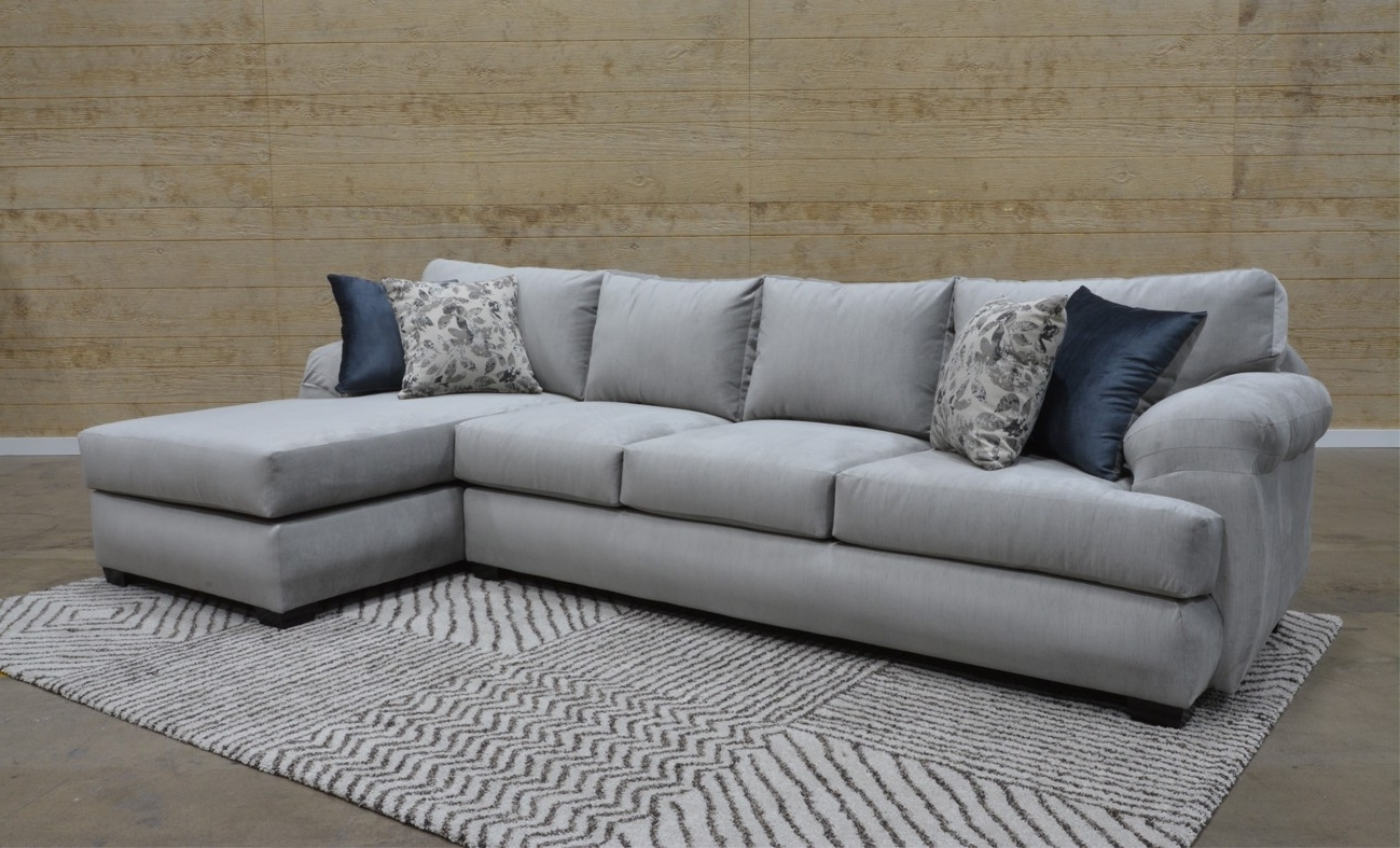 Mariana Grey 2 Piece Sectional Sofa For $1, (View 13 of 15)